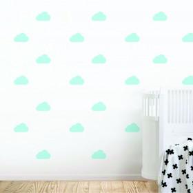 Adesivo Kit Nuvens