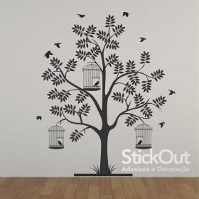 Adesivo Árvore Estilosa