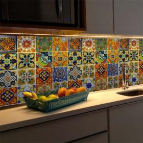Adesivo Azulejo Mexicano