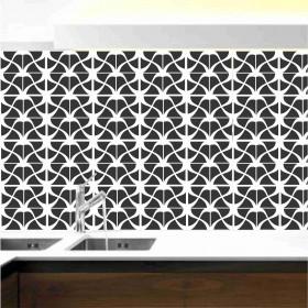 Adesivo Azulejo Inovador Preto e Branco