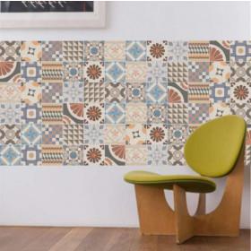 Adesivo Azulejo Patchwork