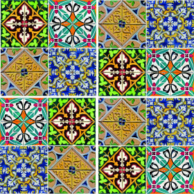 Adesivo Azulejo Mediterrâneo