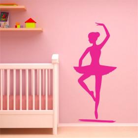 Adesivo Decorativo Bailarina em pé