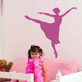 Adesivo de Parede Bailarina Dançando