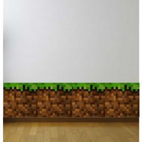 Adesivo Borda Minecraft