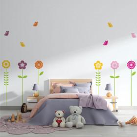 Adesivo Infantil Flores