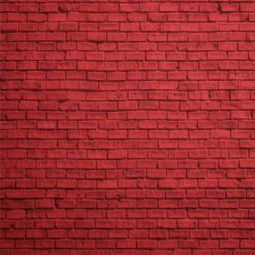 Adesivo Mural Tijolinho Vermelho