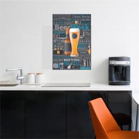 Adesivo Poster Cerveja