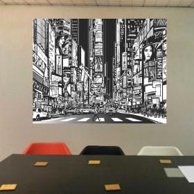 Adesivo Poster Design Nova York