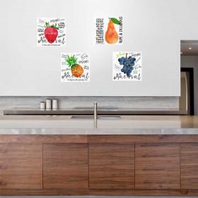 Adesivo Poster Frutas