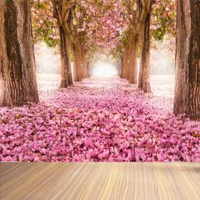 Adesivo Poster Árvore Sakura