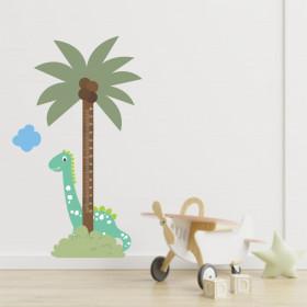 Régua de Crescimento Coqueiro e Dino