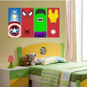 Adesivo Design Super Herois