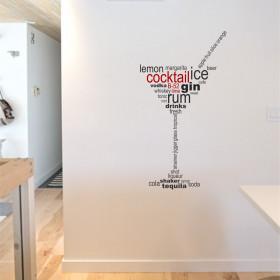 Adesivo Taça de Martini