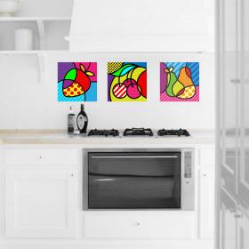 Adesivo Cozinha Frutas Design