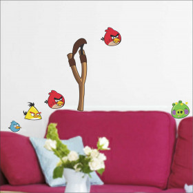 Adesivo de Parede Angry Birds
