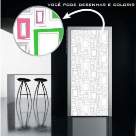 Porta Colorir 18