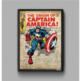 Poster Captain America 4