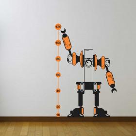 Régua de Crescimento Robô