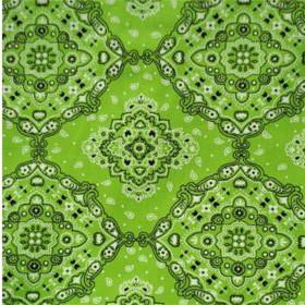 Tecido Adesivo Bandana Verde