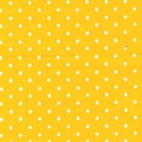 Tecido Adesivo de Bolinha Amarelo