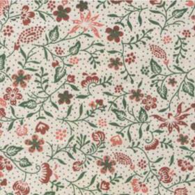 Tecido Adesivo Floral Divertido