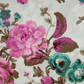Tecido Adesivo Floral Charmoso
