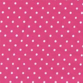 Tecido Adesivo de Bolinha Rosa Magenta